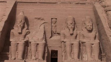 Abu Simbel — Stockvideo