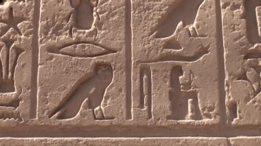 Temple of Karnak — Stock Video