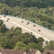 Bridge with traffic in Germany — Stock Video #38994971