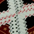 Stock Video: Playing cards