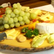 Stock Video: Plate of cheese
