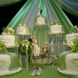 Stock Video: Wedding cake