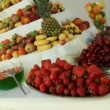 Stock Video: Fruits on table