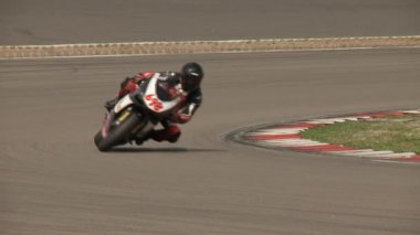 Motorbike racing — Stock Video