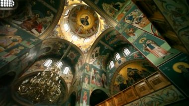 řecká církev — Stock video