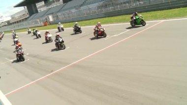 Motor racing — Stockvideo