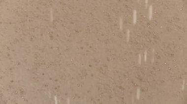 Rainy day in South America — Stock Video