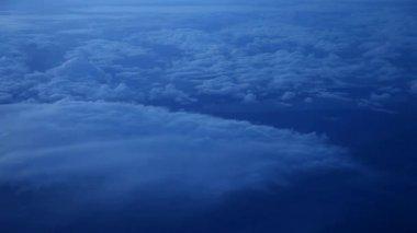 Vuelo sobre las nubes — Vídeo de Stock