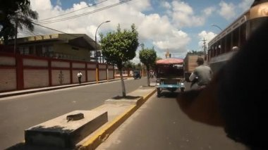 Street in the Iquitos, Peru — Stock Video