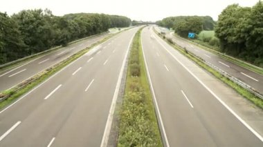 Highway in Germany — Stock Video
