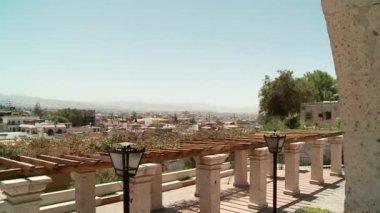 Architecture of Arequipa, Peru — Stock Video