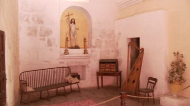 Santa Catalina monastery room — Wideo stockowe