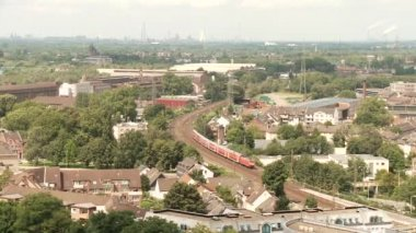 Train in Ruhr, Germany — Stock Video