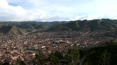 Vista de cuzco — Vídeo de Stock
