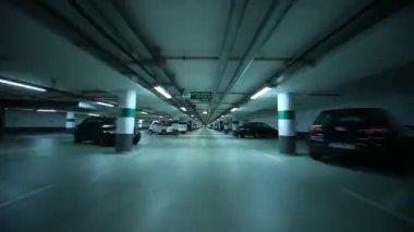 Kapalı otopark — Stok video