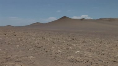 Desert in the Paracas National Parc — Stock Video