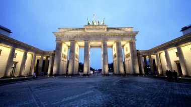 The Brandenburg Gate — Stock Video