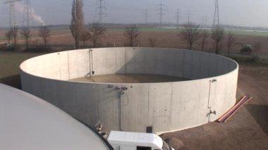 Biogas plant — Stock Video