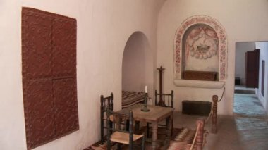 Santa Catalina monastery room — Vídeo de stock