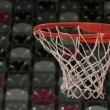 Stock Video: Basketball hoop