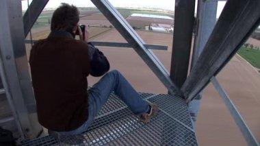 Photographer working — Stock Video
