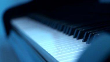 Grand piano — Stock Video