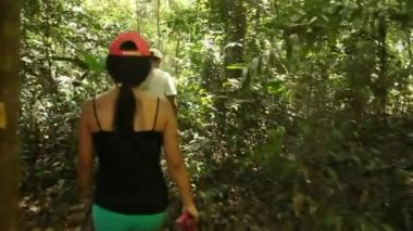 Trip in the rainforest, South America — Stock Video