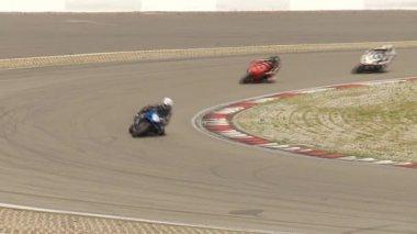 Moto de carreras — Vídeo de Stock