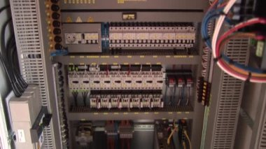Electricity switches — Stock Video