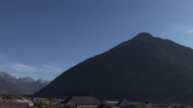 Mountain in Alps, Austria — Stockvideo