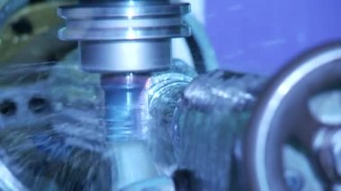 Milling machine — Stock Video