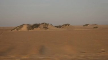 Conducción en desierto — Vídeo de Stock