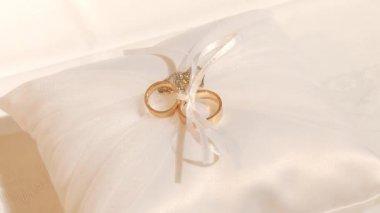 Wedding Rings — Stock Video