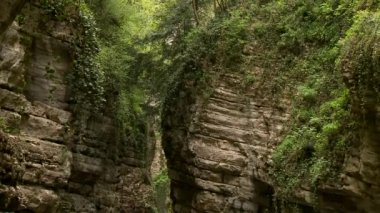 Canyon (Brasa) in Italy — Stock Video