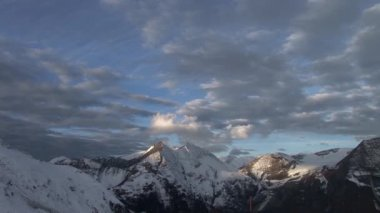 Mountains in Austria near Grossglockner — Stock Video