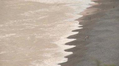 Coastline of Lima — Stock Video