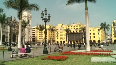 Central City of Lima — Stock video