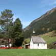 Stock Video: Chapel in Mountain Village