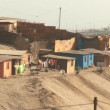 Slums in desert — Stock Video #39151257