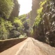 Road at lake Garda — Stock Video