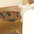 Stock Video: Greek church interior
