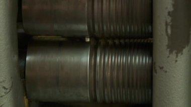 Pressing machine — Stock Video