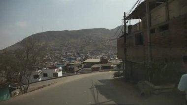 LIMA, PERU - CIRCA JUNE 2012: Driving in Lima — Stock Video