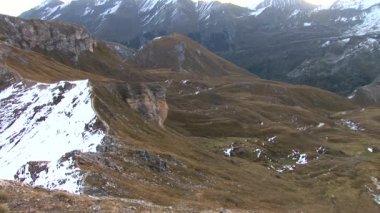 Mountains in Austria near Grossglockner — Stock Video