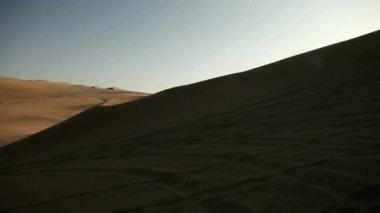 Desert in Ica, Peru — Stock video