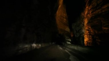 Road tunnel — Stockvideo
