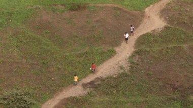 Lima - vers 2012 : personnes marchant — Vidéo