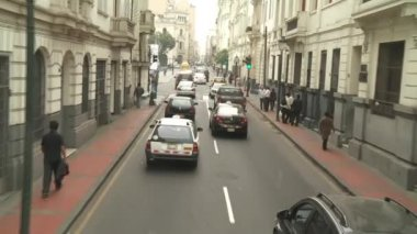 LIMA - CIRCA 2012: driving in Lima — Vídeo Stock