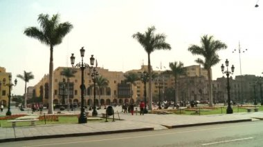 Central City of Lima — Video Stock