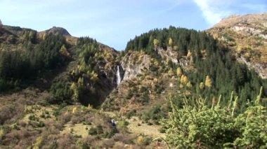 Landscape in alps of Austria — Stock Video